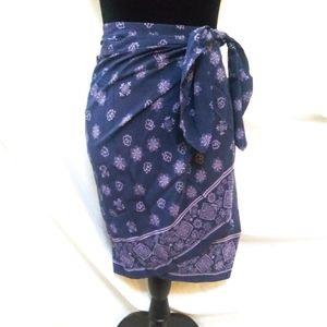 DNKY Wrap Skirt SZ M
